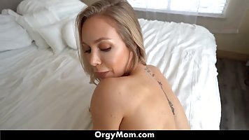 Bootyfull mom let stepson to Bang her pussy long cock