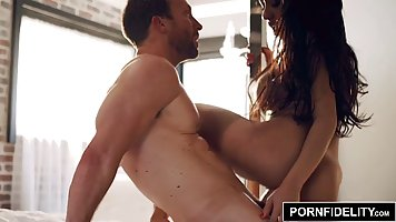 Latina with big milkings fingering guy dick and jumps on it sverok