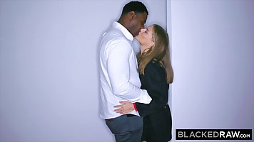 Black hardcore staged with the Chairman's wife at a rented apartment and hav...