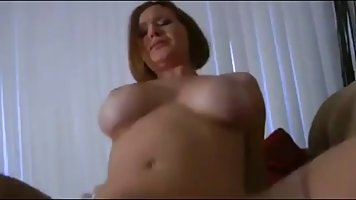 Mature in stockings bareback polishes her best friend's beautiful pussy